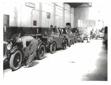 MG M Type Midget Factory Retrospective black & white Press Photograph No. 7798