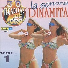 FREE US SHIP. on ANY 2 CDs! NEW CD La Sonora Dinamita: 30 Pegaditas De Oro Vol.