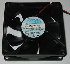 NMB 80 mm Fan - 12 V - 3110KL - 2150 RPM - 22 dB - Quiet DC Fan - 3110KL-04W-B10