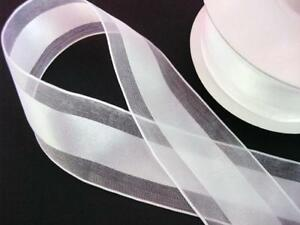 25 yards Double Side Satin/Organza Craft Ribbon/Holiday/Trim R22-Pick Color/Size