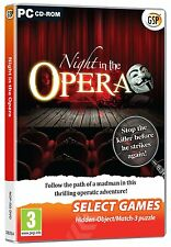 Night in the Opera (PC DVD) NEW SEALED