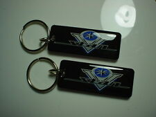 Yamaha V Star Key Chain Black 2 pack