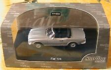 FIAT 124 1600 CABRIOLET DECAPOTABLE GRISE STARLINE 506618 1/43 MINT SPIDER GREY