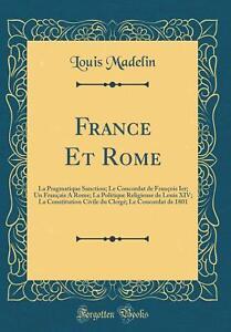 France Et Rome Broché