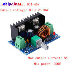 DC-DC 5V-40V 200W 8A to 1.2-36V Buck Converter Adjustable Step Down Power Module