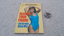 Globe Mini Mag #704 Reshape Your Figure the Aerobic Dance Way 1986 New Old Stock