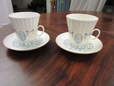 2 Kaffeetassen Lomonosow Fine Bone China