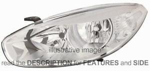 LHD Headlight Renault Fluence 2012 Right Side 26010-2323R