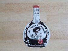 Autocollant / sticker Génépi Le père Larocaille Vulnéria Distillerie Routin