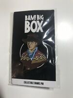 BAM BOX BACK TO THE FUTURE MARTY MCFLY LIMITED EDITION PIN BADGE