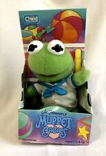 NEW Vintage 1992 Muppet Babies Kermit Plush Jim Henson Child Dimension RARE