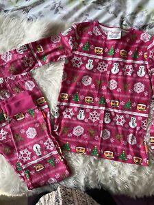 Girls Christmas Emoji Pyjamas Age 10/11