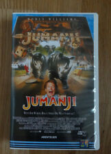 Jumanji mit Robin Williams VHS Video Kasette *TOP*