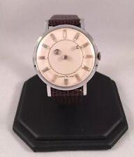 Vintage Men's 1950's Louvic De Luxe Mystery Dial Watch
