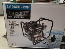 Everbilt 5.5 HP Gas-Powered Utility Pump - WG20