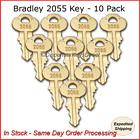 Bradley #2055 Dispenser Key - (10/pk.)