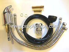 Hair salon shampoo bowl faucet , sprayer hose fixture & UPC vacuum breaker set