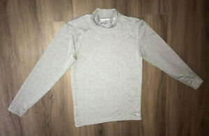 Champion Gray Long Sleeve Workout Top Duo Gray Womens Large