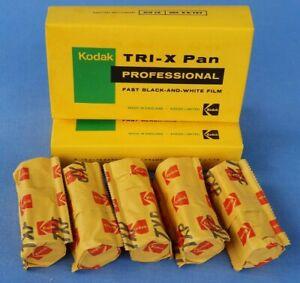 1 Expired Kodak TXP 120 Tri-X Pan Professional Negative Film Expiry 1977 Sealed