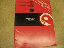 John Deere 8430 8630 Tractor Operators Manual Om-R66836