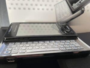 Sony Ericsson  Xperia X1 X1i - Solid Black (Ohne Simlock) Handy Vintage Top
