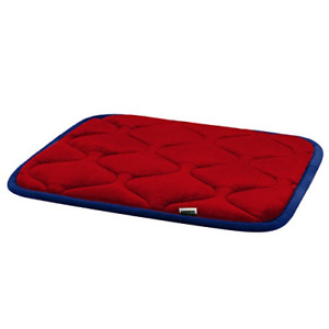Hero Dog Small Dog Bed Mat 21 Inch Crate Pad Anti Slip Mattress Washable for Red