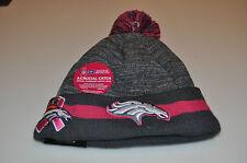 Denver Broncos Knit Breast Cancer BCA New Era Hat Cap Toque Beanie Player NFL