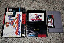 Kid Klown in Crazy Chase (Super Nintendo SNES, 1994) Complete in Box FAIR H