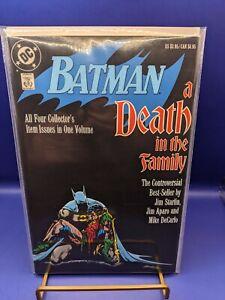 Batman Death In The Family TPB 1st Print Graphic Novel 426 427 428 429