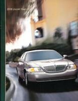 2008 Lincoln Town Car 24-page BIG Original Car Sales Brochure Catalog