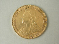 Melbourne Mint Victorian 1897 FULL SOVEREIGN. Very Fine