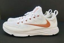 Nike Vapor Speed Turf Texas Longhorn Team Issued Training White/Orange Men Sz 14