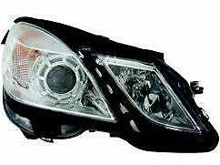 Mercedes Benz E Class Headlight Unit Driver's Side Headlamp Unit 2009-2013