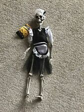 Halloween Hanging Gothic French Maid Skeleton Great Scary Fun Party Decoration