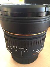 Sigma 8mm F3.5 EX DG Zirkular-Fisheye für NIKON 1a Zustand