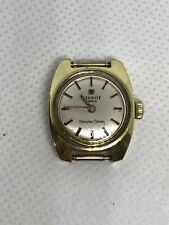 Tissot Lady Seastar Seven Women's Vintage Rare Gold Plaque G20 Epsa Wrist Watch