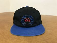 Vintage 90s Reebok The Pump Youth Snapback Baseball Cap Size 20 1/8 - 21 5/8 in