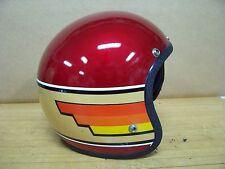 Vintage NOS Buco Motorcycle Helmet Large 1977