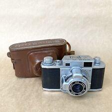 Ricoh Riken Vintage 35mm Rangefinder Film Camera W/ Ricomat 4.5cm 1:3.5 - AS-IS
