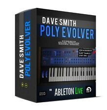 Dave Smith POLY EVOLVER for ABLETON LIVE  sounds samples SAMPLE LIBRARY