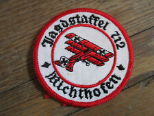 Vietnam 712th NATO Fagdstaffel Richtofen German ? Europe? EU Made Squadron Patch