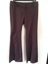 Da Donna CERCHIO completo grigio Wide & Gamba Lunga Pantaloni L £ 55 nuova con etichetta