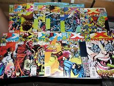 X-Factor lot of 12 books #71 #76 #84 #85 #86 #87 #88 #89 #90 #91 #92 #93