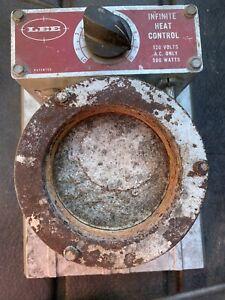 Lee Lead Melting Furnace Pot infinite Heat Control 120v 500w ~tested