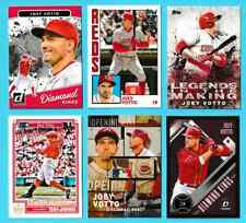 (6) card 2017-2019 Joey Votto lot Cincinnati Reds Panini Optic Topps (NVB)