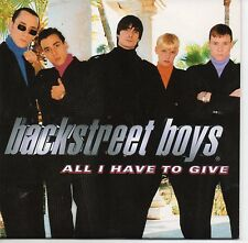 ★ CD SINGLE BACKSTREET BOYS All I have to give Promo 1-track CARD SLEEVE  ★ RARE