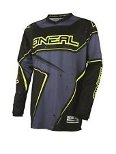 O'neal ONEAL Element RW mens MEDIUM motocross jersey 0028-203 blk/gry/hi vis