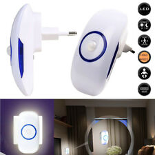 LED Nachtlicht mit Bewegungsmelder für Steckdose 18 LEDs Nachtlicht Nachtlampe