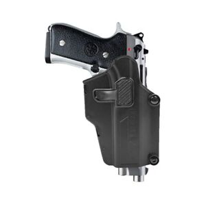 Yuansu Tactique Airsoft Beretta Holster Pistolet Case Quick Draw Holster Accessoires de Chasse Fit for Beretta M92 M9 avec /étui Color : Holster Black