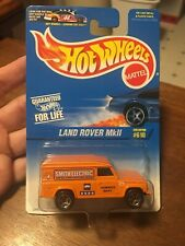 HOT WHEELS 1996 1996 LAND ROVER MkII  ORANGE COLLECTOR #610 FREE SHIPPING